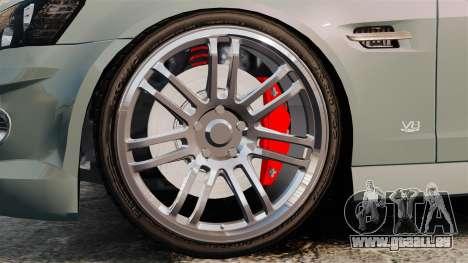 Chevrolet Lumina 2009 Mr. Bolleck Edition pour GTA 4 Vue arrière