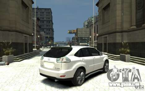 Lexus RX 400h für GTA 4 rechte Ansicht