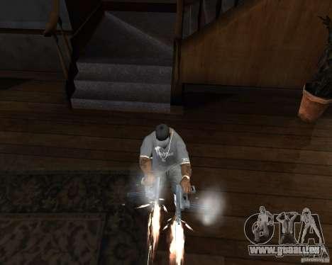 Tec 9 (HQ) pour GTA San Andreas troisième écran