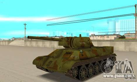 Panzer T-34/76 für GTA San Andreas