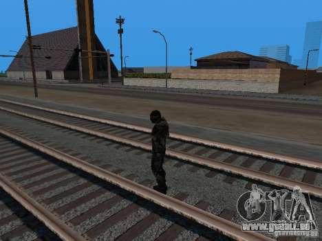 Crysis Nano Suit pour GTA San Andreas sixième écran