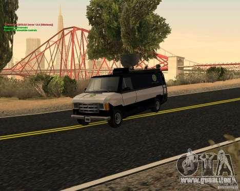New News Van pour GTA San Andreas