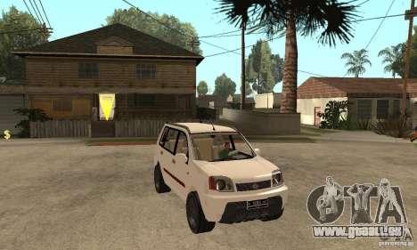 Nissan X-Trail pour GTA San Andreas vue arrière