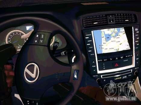Lexus I SF pour GTA San Andreas vue de côté