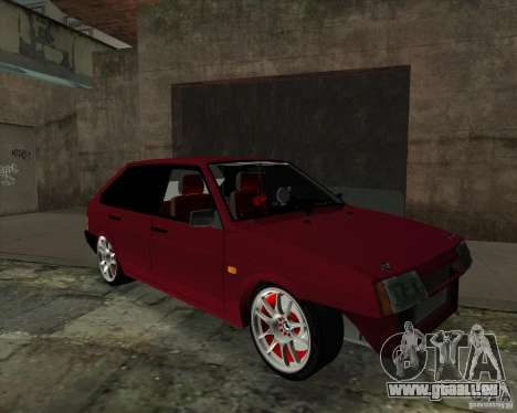 VAZ 2109 Drift für GTA San Andreas linke Ansicht