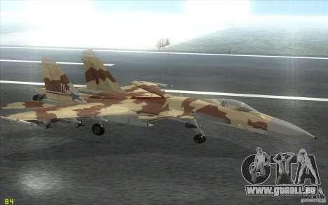 Le Su-37 Terminator pour GTA San Andreas