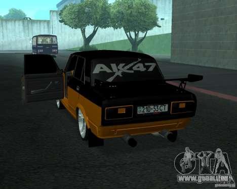 VAZ 21053 tuning pour GTA San Andreas laissé vue