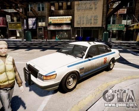 Russian Police Cruiser pour GTA 4