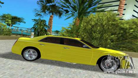 Lancia Nuova Thema für GTA Vice City linke Ansicht