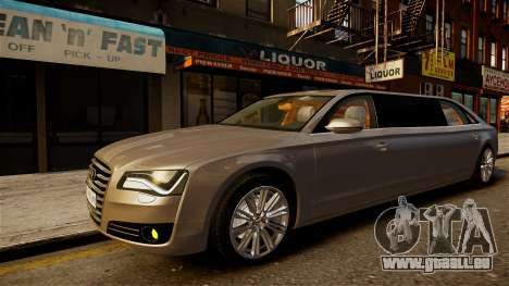 Audi A8 limousine pour GTA 4