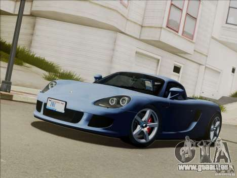 Porsche Carrera GT für GTA San Andreas Innen