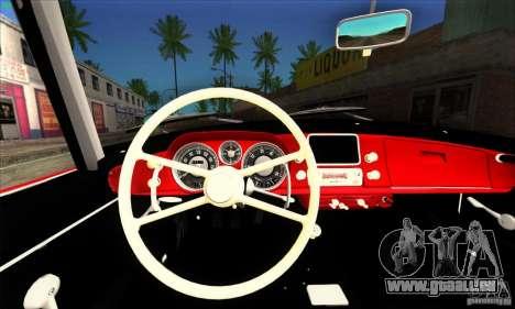 BMW 507 pour GTA San Andreas sur la vue arrière gauche