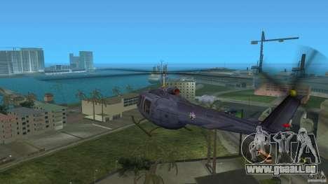 Maverick Bell-Huey für GTA Vice City rechten Ansicht