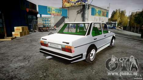 Volkswagen Jetta 1981 für GTA 4 Innenansicht