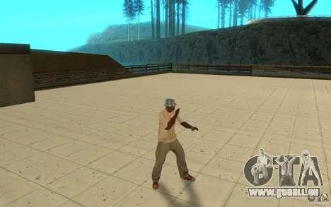 Différents styles de pour GTA San Andreas