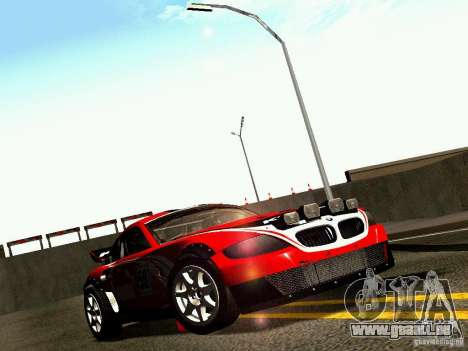 BMW Z4 Rally Cross für GTA San Andreas Motor