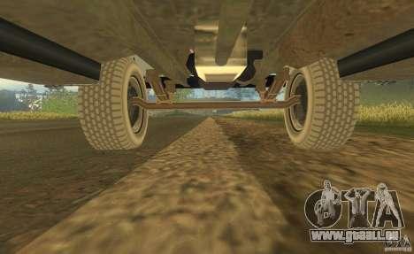 ZIL 164 Traktor für GTA San Andreas obere Ansicht