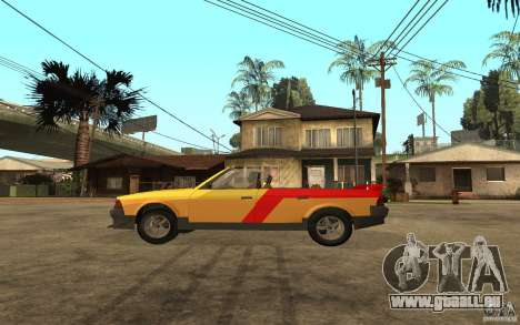 Moskvich 2141 Cabriolet für GTA San Andreas zurück linke Ansicht