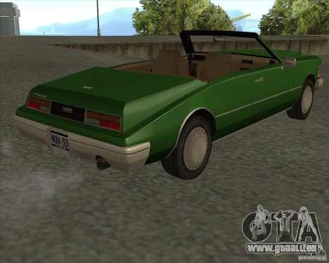 HD Idaho für GTA San Andreas Rückansicht