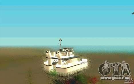 Ferry pour GTA San Andreas sur la vue arrière gauche