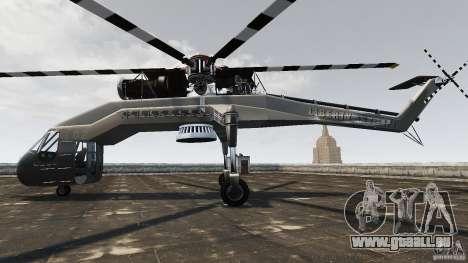 SkyLift Helicopter für GTA 4 linke Ansicht