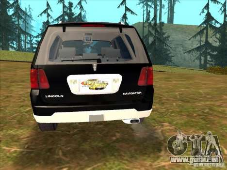 Lincoln Navigator für GTA San Andreas linke Ansicht