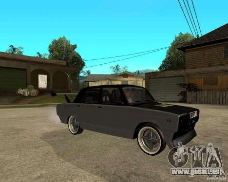 ВАЗ 2107 drift für GTA San Andreas rechten Ansicht