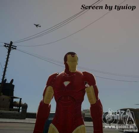Iron Man Mk3 Suit pour GTA 4