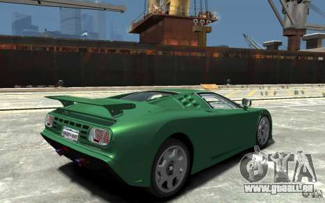Bugatti EB110 Super Sport pour GTA 4 est un droit