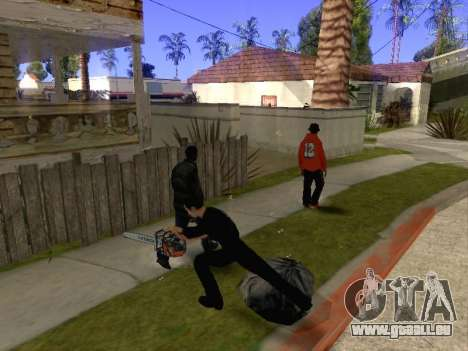 Massacre à la tronçonneuse v. 2.0 pour GTA San Andreas