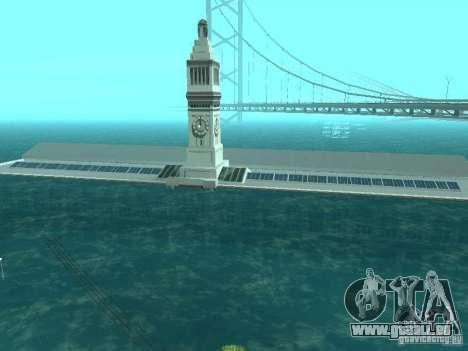 Inondation pour GTA San Andreas quatrième écran