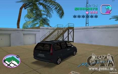 Citroen C8 pour une vue GTA Vice City de la gauche