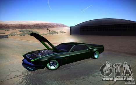 Ford Mustang RTR Drift für GTA San Andreas zurück linke Ansicht