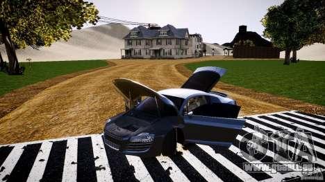 Audi R8 2008 für GTA 4 Seitenansicht