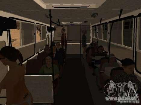 Trailer-Ikarusu 280.46 für GTA San Andreas rechten Ansicht