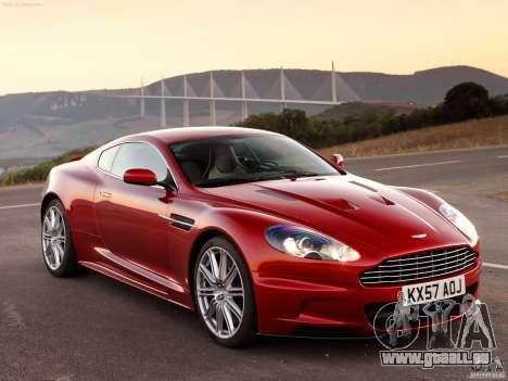 Aston Martin DBS V12 für GTA Vice City rechten Ansicht