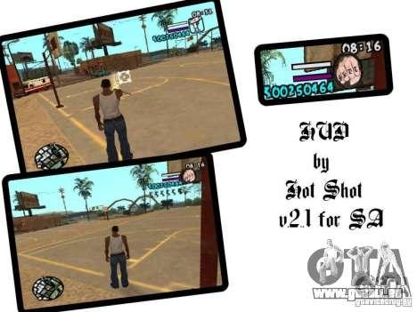 HUD by Hot Shot v2.1 pour GTA San Andreas
