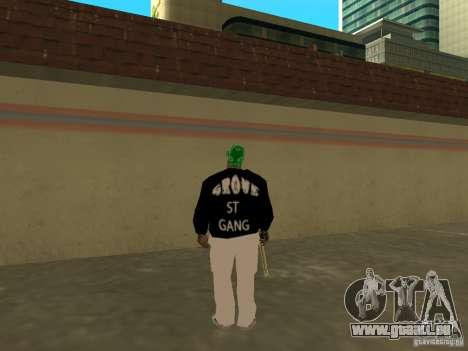 Mégalo épais pour GTA San Andreas cinquième écran