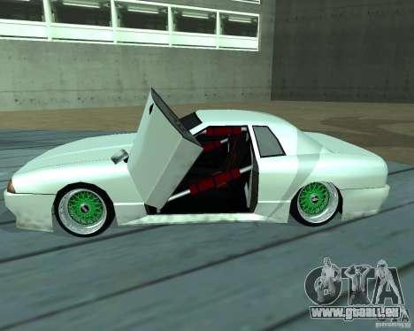 New elegy pour GTA San Andreas vue de dessous