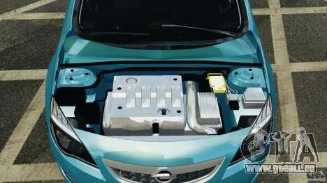 Opel Astra 2010 v2.0 pour GTA 4 Vue arrière