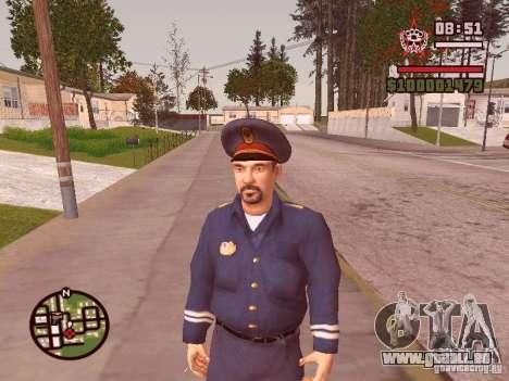 Flics pour GTA San Andreas quatrième écran