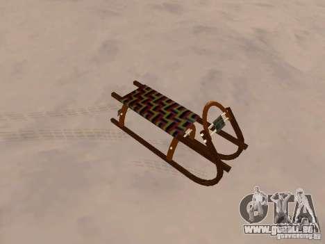 Luge v2 pour GTA San Andreas