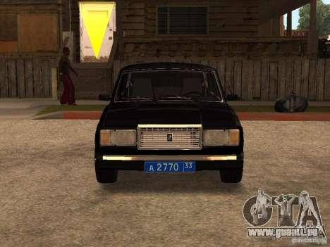 VAZ 21073 Service pour GTA San Andreas laissé vue