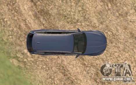 BMW M5 F11 Touring pour GTA San Andreas salon