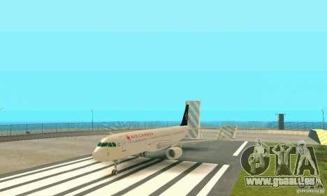 Airbus A321 Air Canada für GTA San Andreas