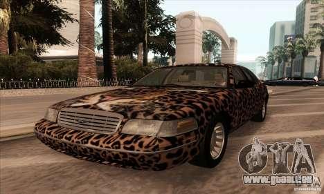 Ford Crown Victoria 2003 für GTA San Andreas Seitenansicht