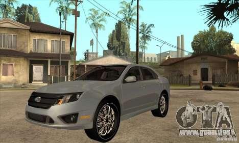 Ford Fusion V6 DUB 2011 pour GTA San Andreas
