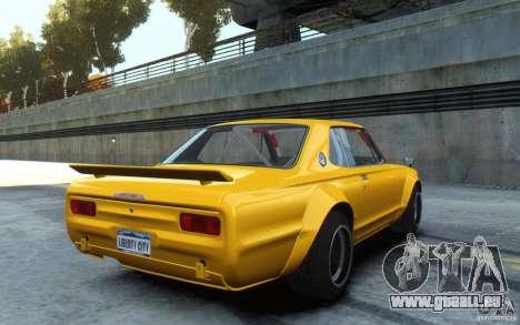Nissan Skyline 2000GT-R C10 Speedhunters pour GTA 4 est une gauche