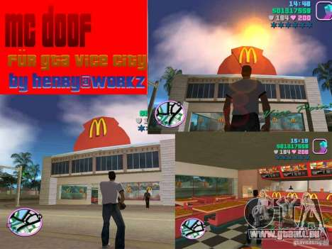 McDonalds pour GTA Vice City