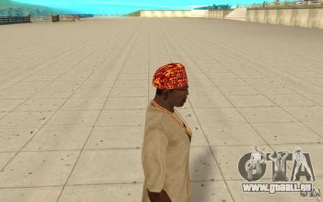 Halloween-bandana für GTA San Andreas zweiten Screenshot